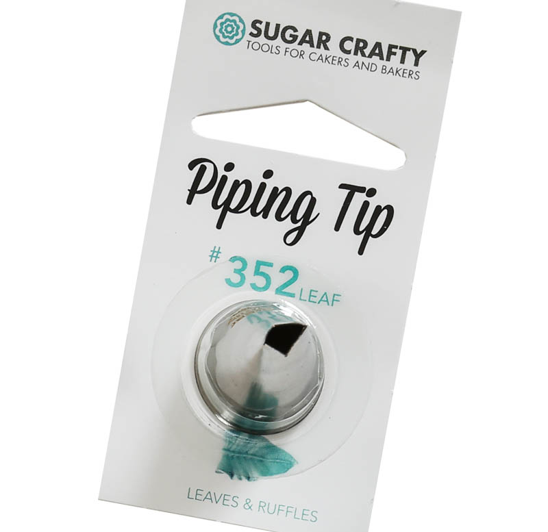 Sugar Crafty Leaf Icing Tip 352