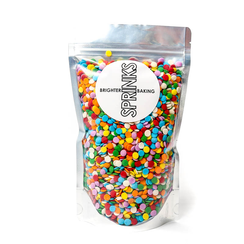 500g BIG BRIGHT CONFETTI - by Sprinks
