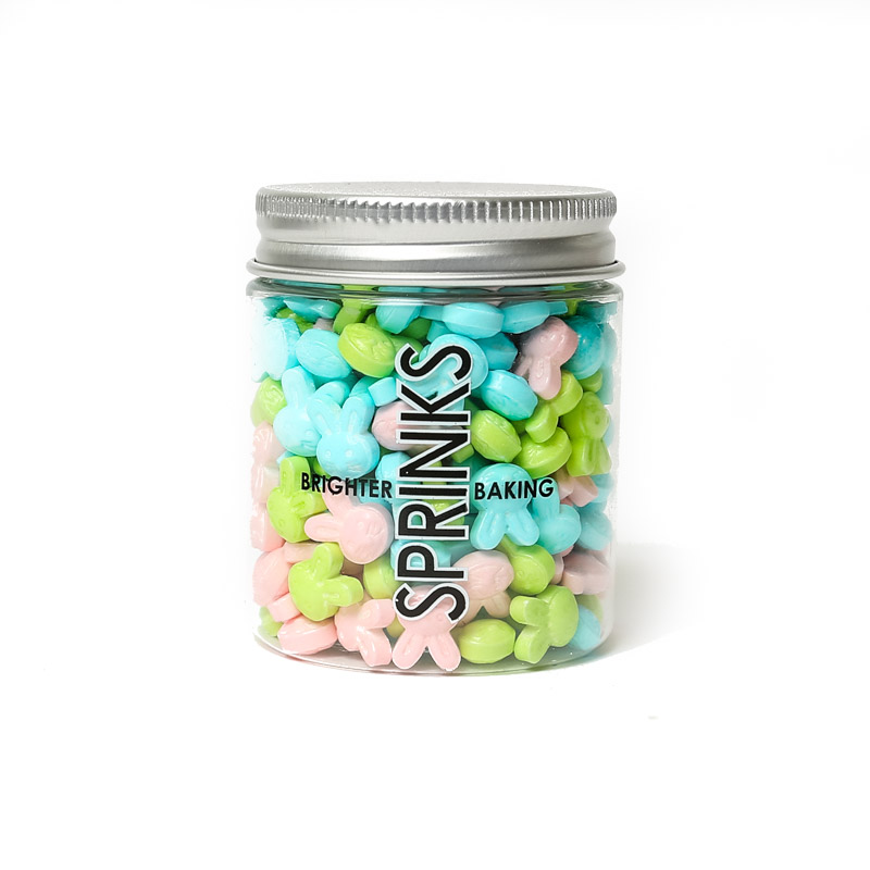 PASTEL EASTER BUNNIES Mix (70g) - by Sprinks
