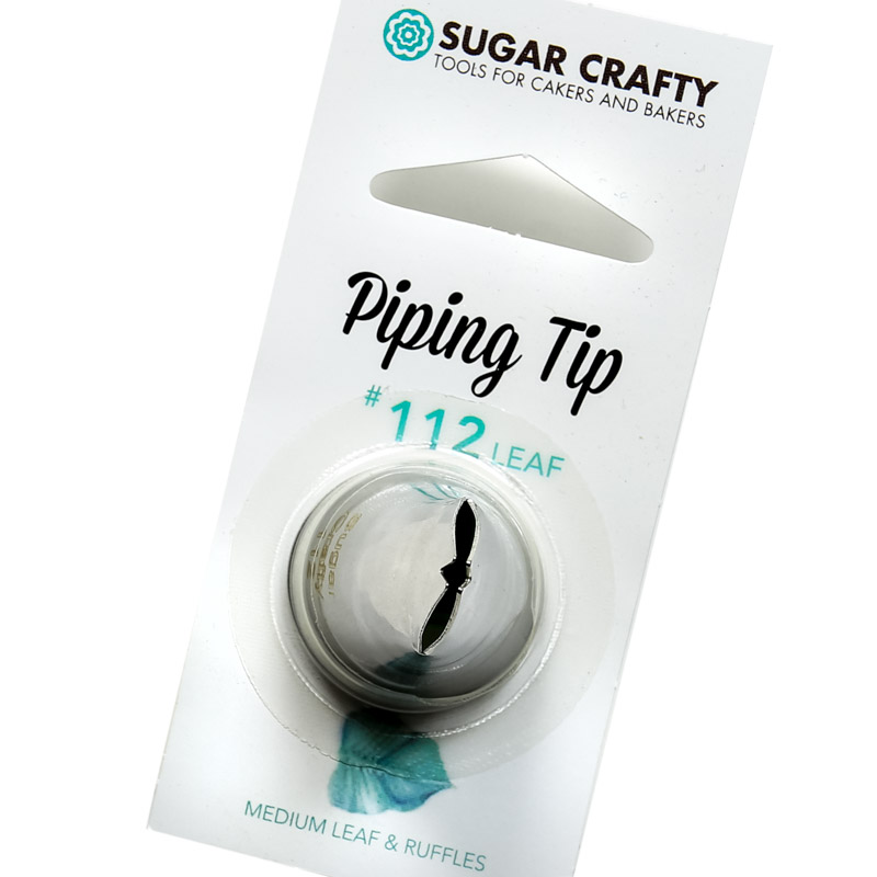 Sugar Crafty Leaf Icing Tip 112