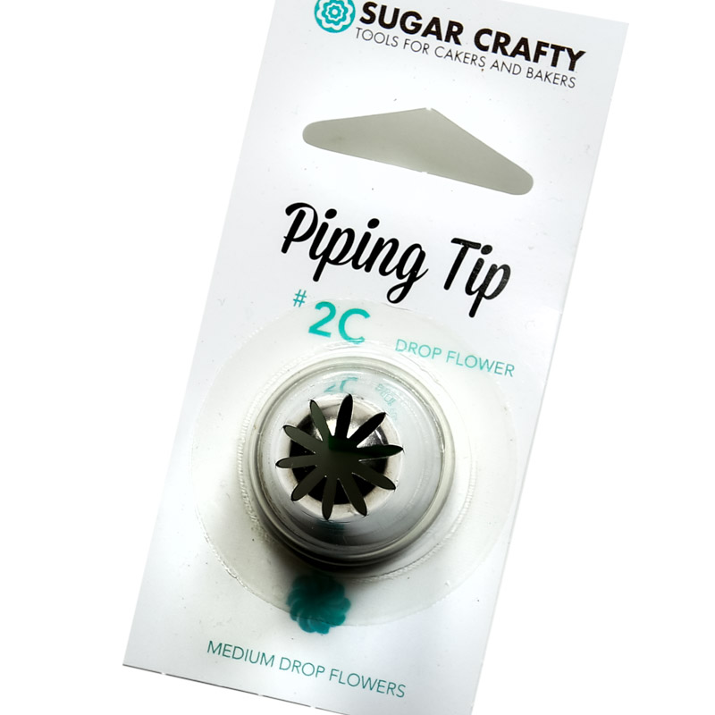 Sugar Crafty Drop Flower Icing Tip 2C