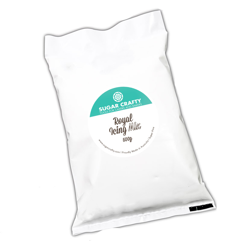 WHITE Royal Icing Mix 500g - by Sugar Crafty**