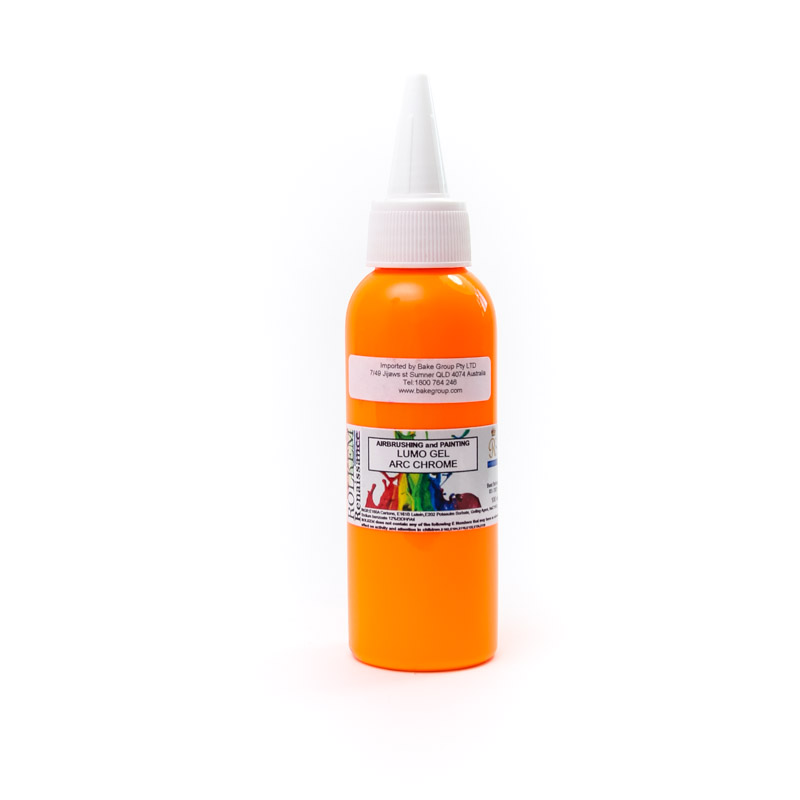 100ml Rolkem Gel Lumo Paint - ARC CHROME