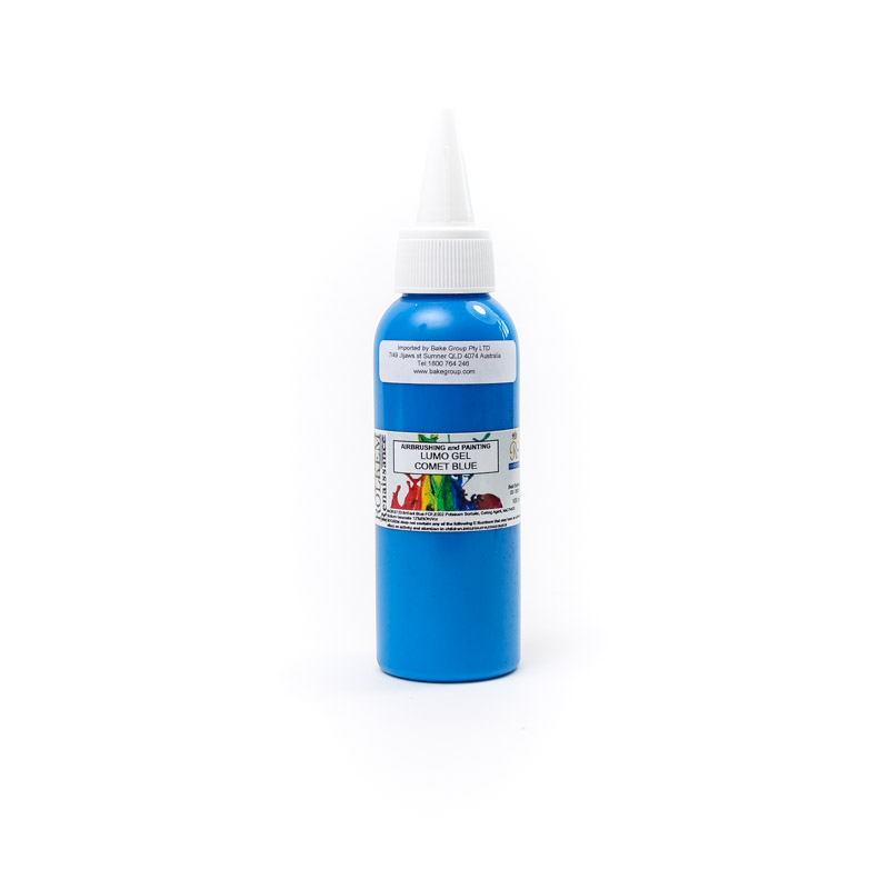 100ml Rolkem Gel Lumo Paint - COMET BLUE