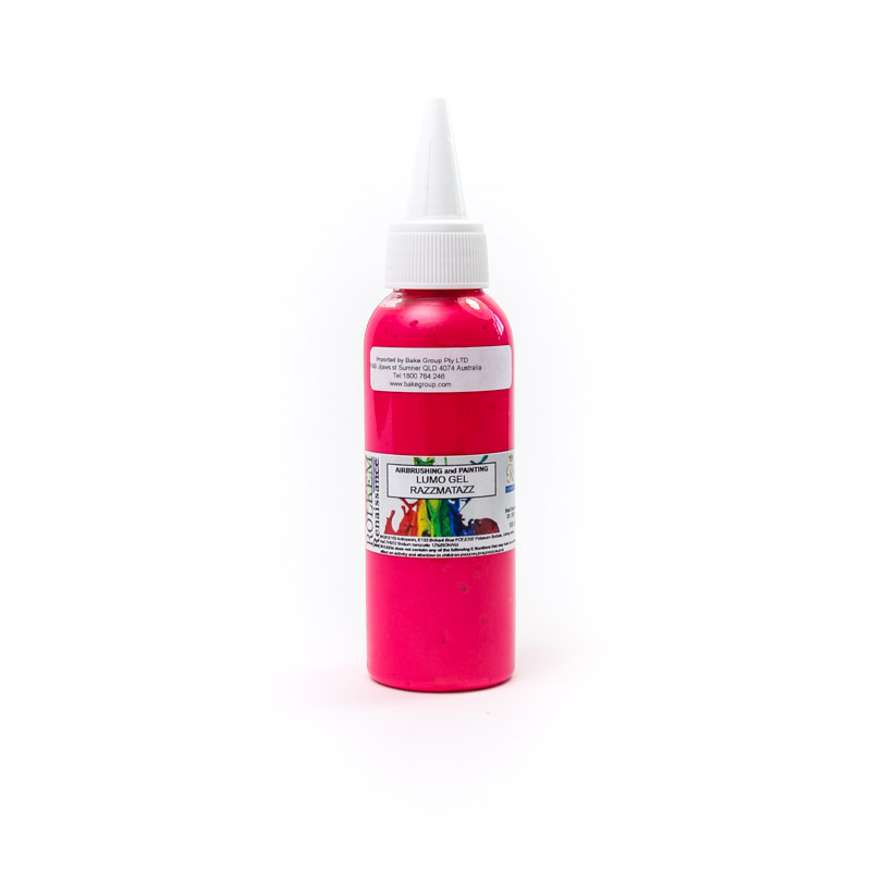 100ml Rolkem Gel Lumo Paint - RAZZMATAZZ