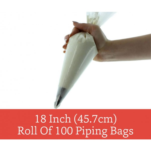 18 Disposable Piping Bags (Pack of 10) - by Sugar Crafty