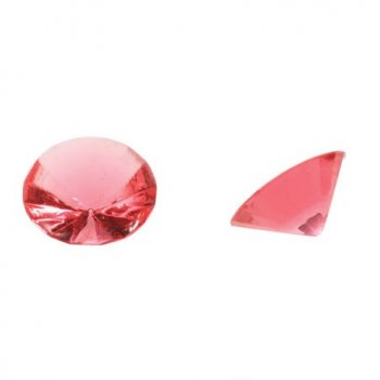 Edible Diamonds (PINK) 20mm - 9 pack