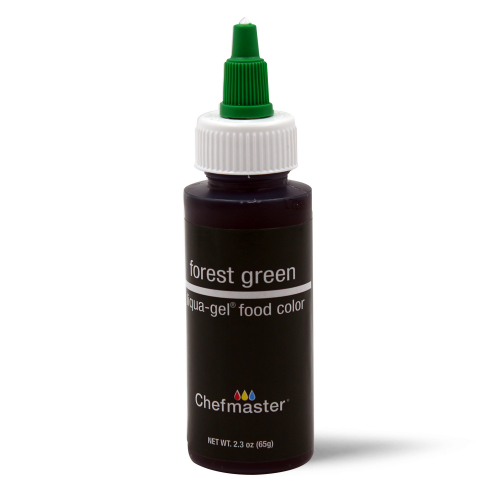 Chefmaster Liqua-Gel FOREST GREEN (2.3oz)**