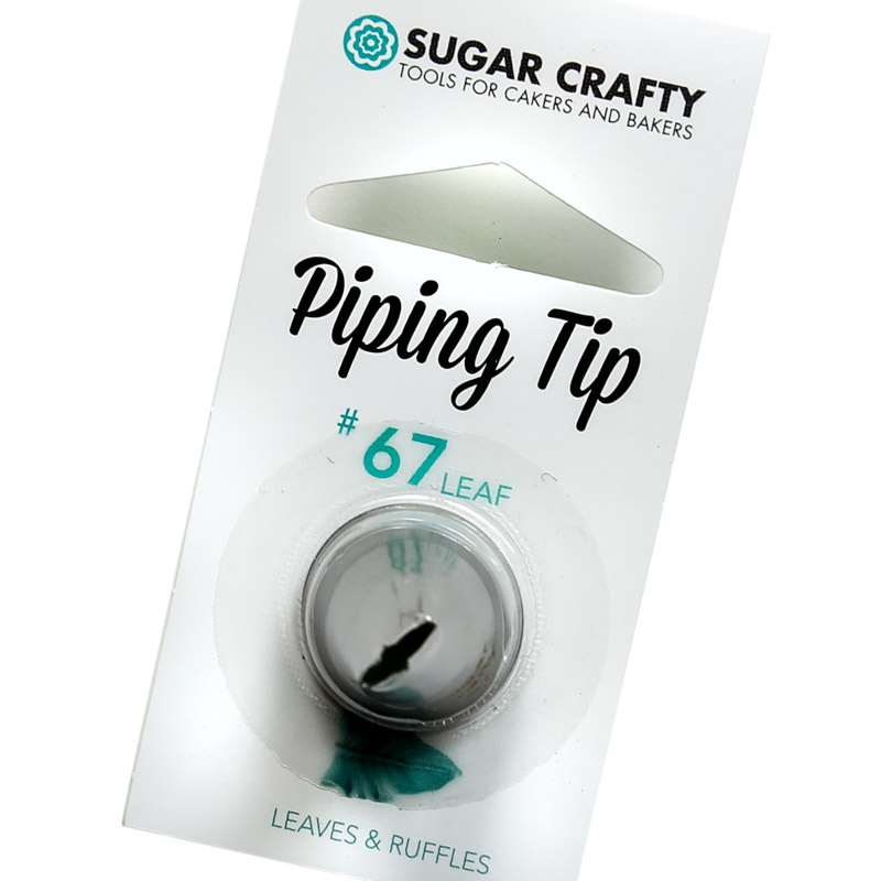 Sugar Crafty Petal Icing Tip 67