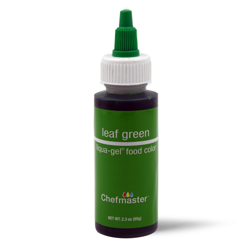 Chefmaster Liqua-Gel LEAF GREEN (2.3oz)**