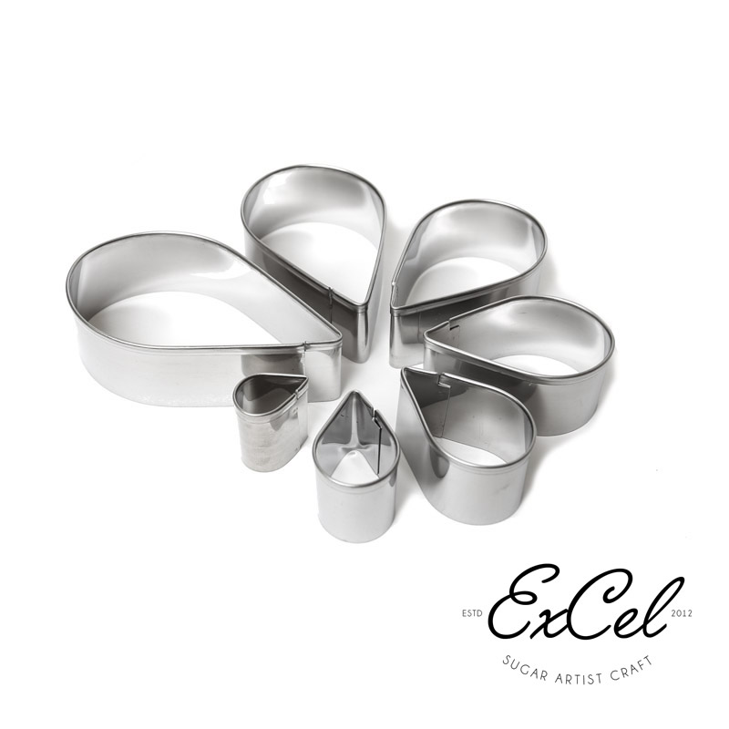 RANUNCULUS Cutter Set (7 Petals) - by Excel