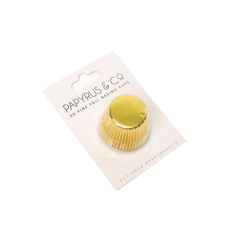 Mini GOLD Foil Baking Cups (50 pack)