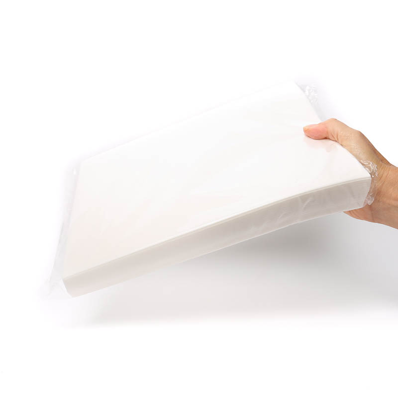 WHITE Rectangle Wafer Paper (THIN) - A4 size (100 sheets)