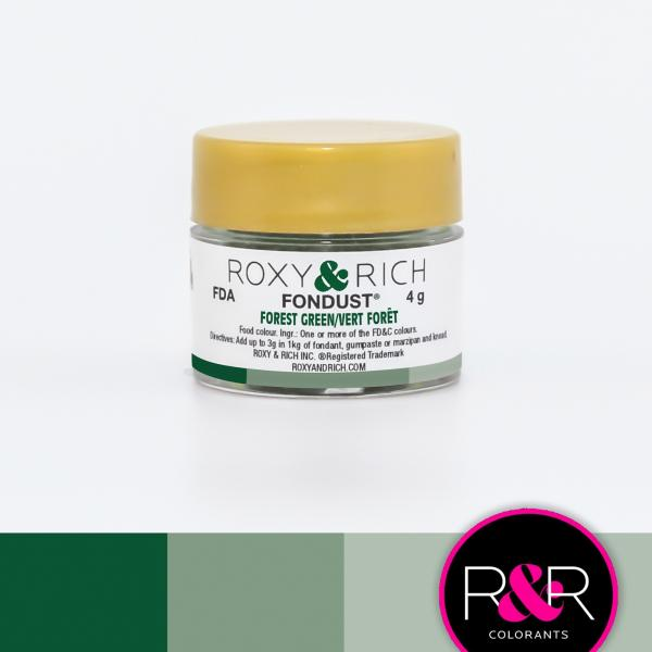 FOREST GREEN Fondust Dusting Colour 4g - ROXY & RICH