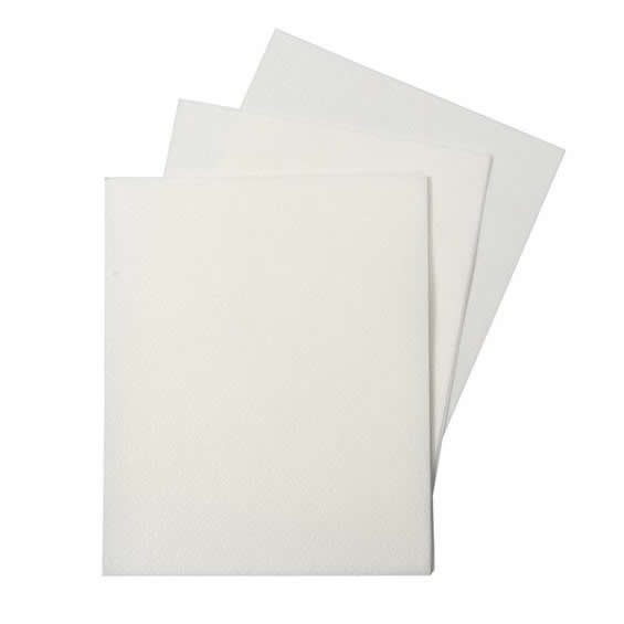 WHITE Rectangle Wafer Paper - A4 size (100 sheets)