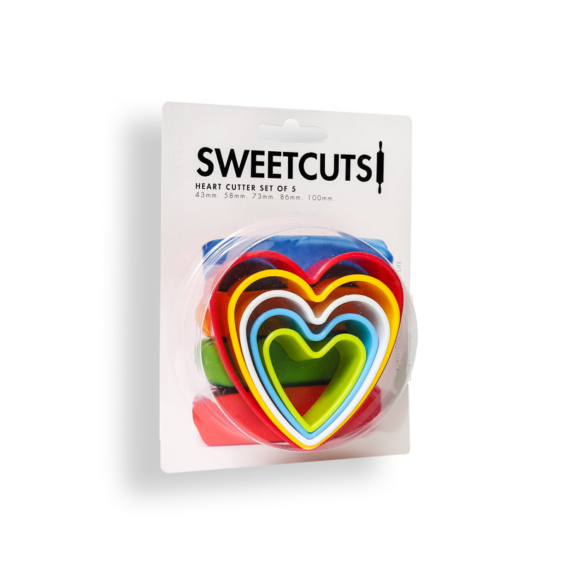 HEART Cutters (Set of 5) - SweetCuts