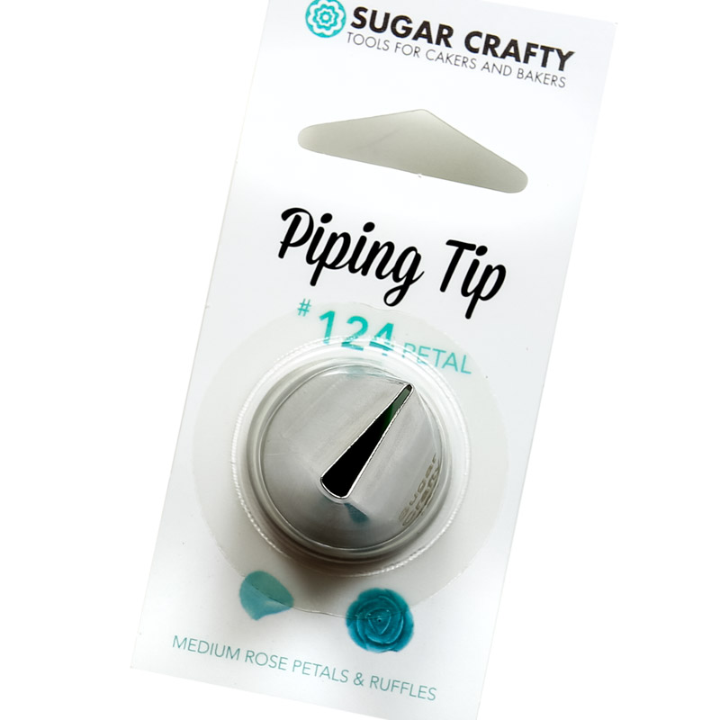 Sugar Crafty Petal Icing Tip 124