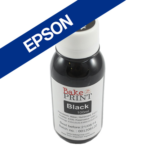 EPSON Edible Ink Refill Bottle 100ml - BLACK