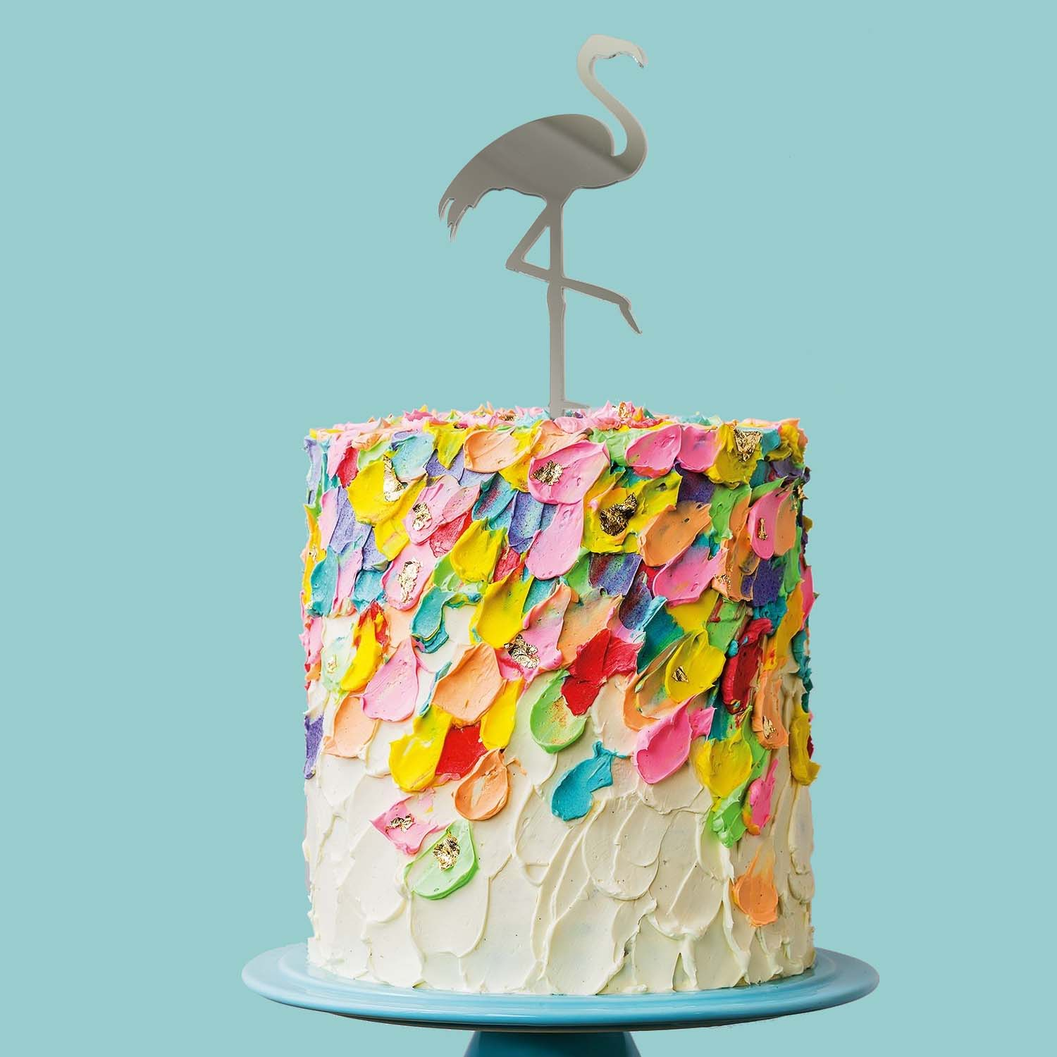 FLAMINGO Cake Topper (MIRROR)