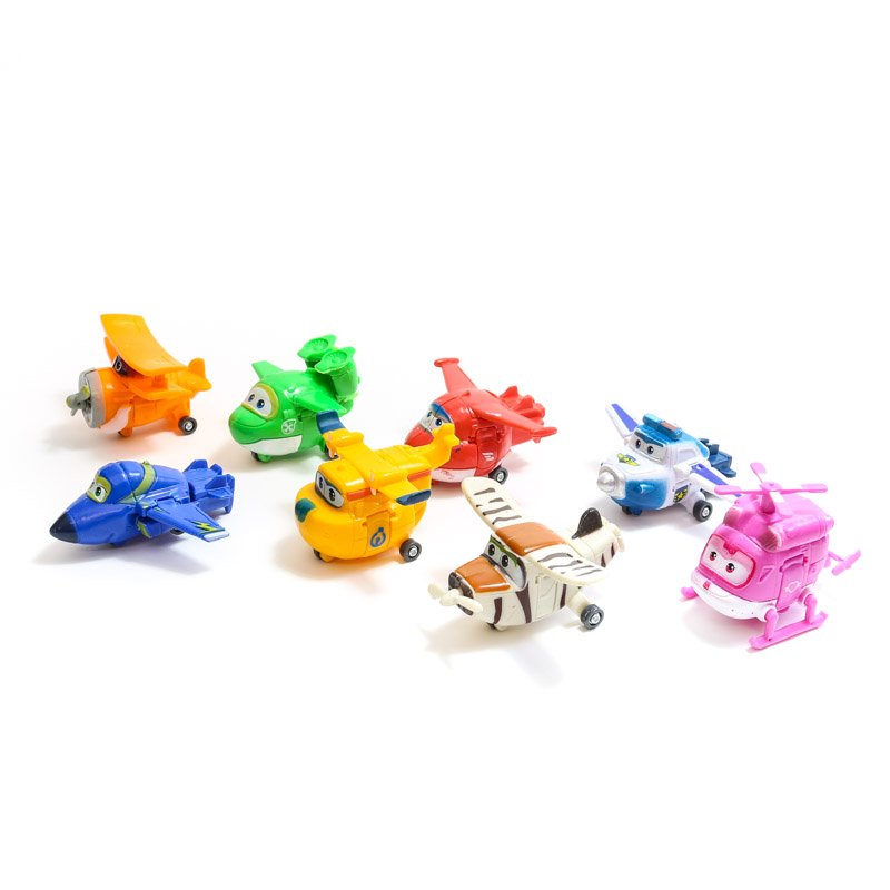 Cake Toppers - PLANES (8 Pieces)