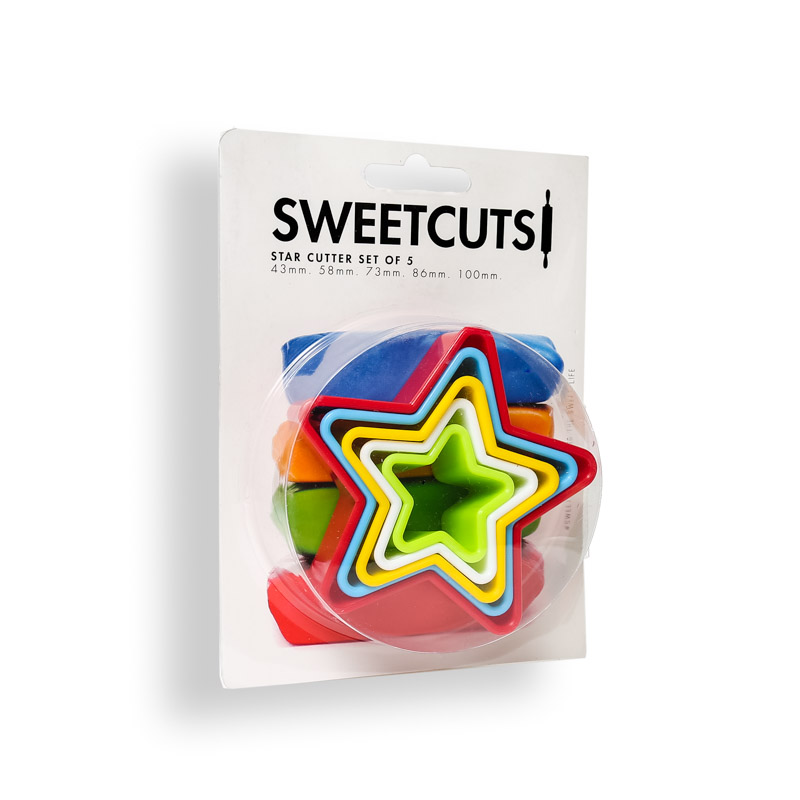 STAR Cutters (Set of 5) - SweetCuts
