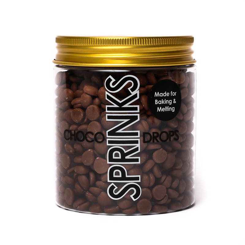 SPRINKS Choco Drops - BROWN (200g)