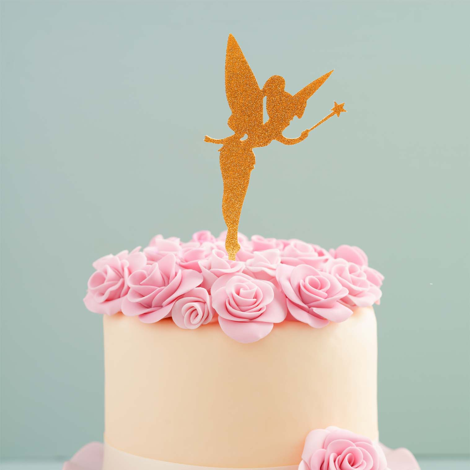FAIRY Cake Topper (Gold)