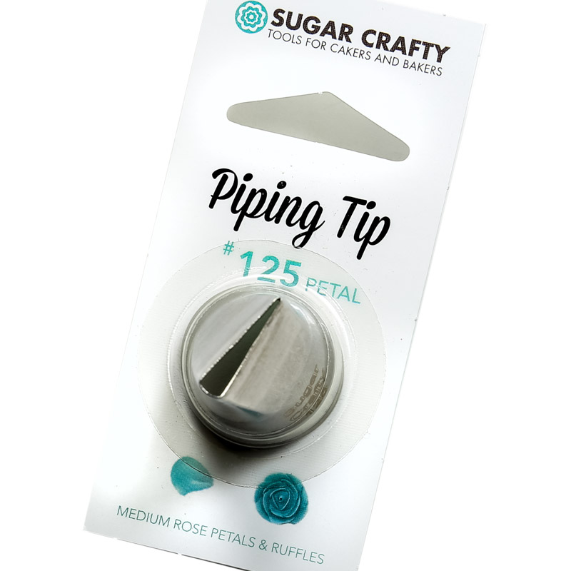 Sugar Crafty Petal Icing Tip 125