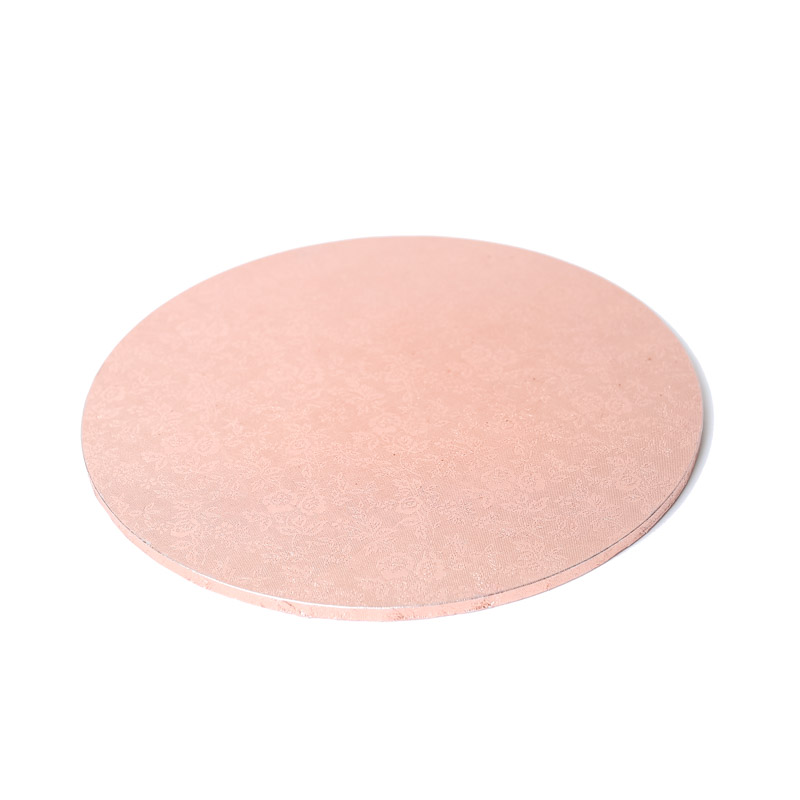 Masonite Cake Board (ROSE GOLD) - 12 ROUND