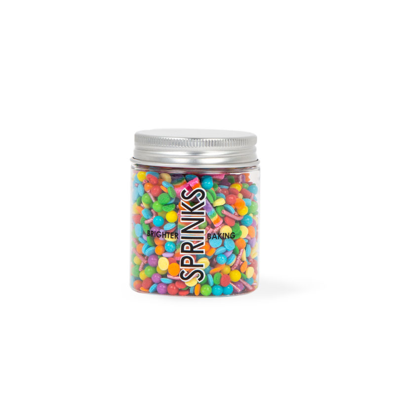 OVER THE RAINBOW Sprinkles (70g) - by Sprinks