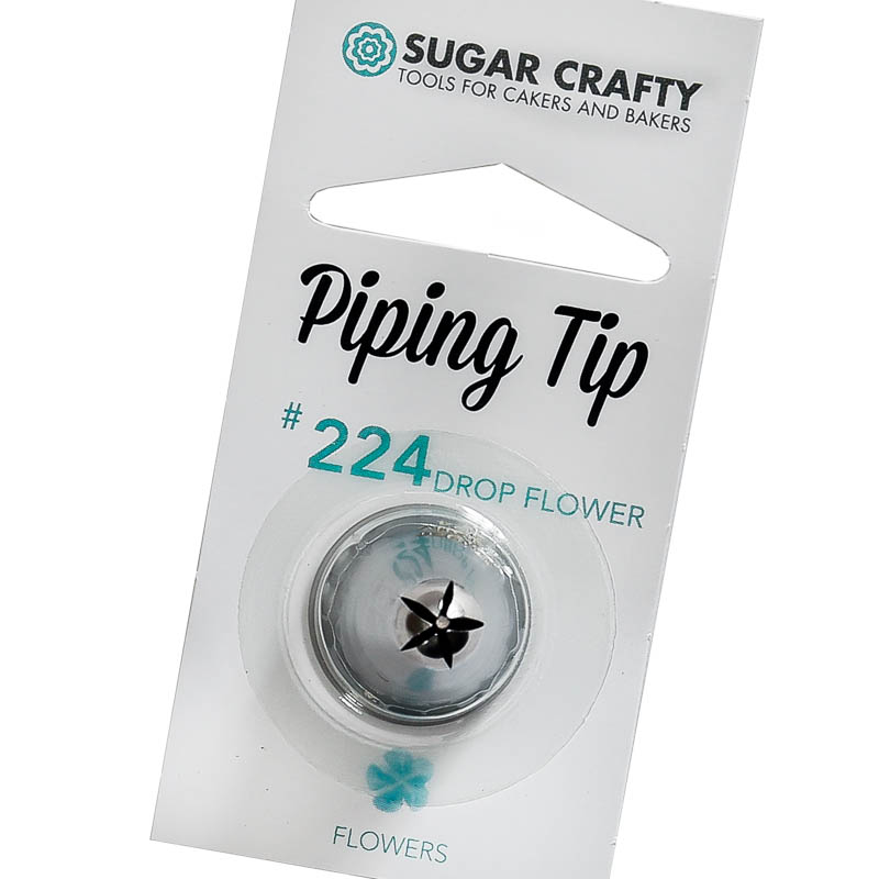 Sugar Crafty Drop Flower Icing Tip 224