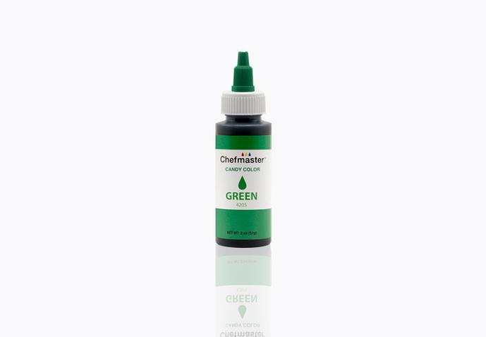 Chefmaster Oil Based Food Colouring - GREEN (2oz)
