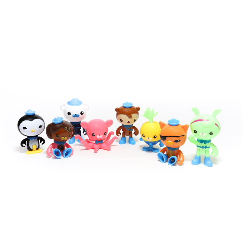 Cake Toppers - OCTONAUTS (8 Pieces)
