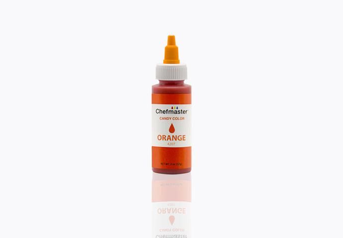 Chefmaster Oil Based Food Colouring - ORANGE (2oz)