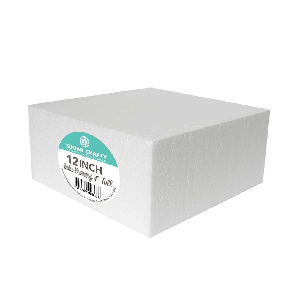 Cake Dummy - SQUARE 12 x 4 High