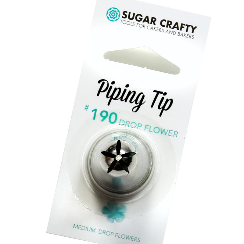 Sugar Crafty Drop Flower Icing Tip 190