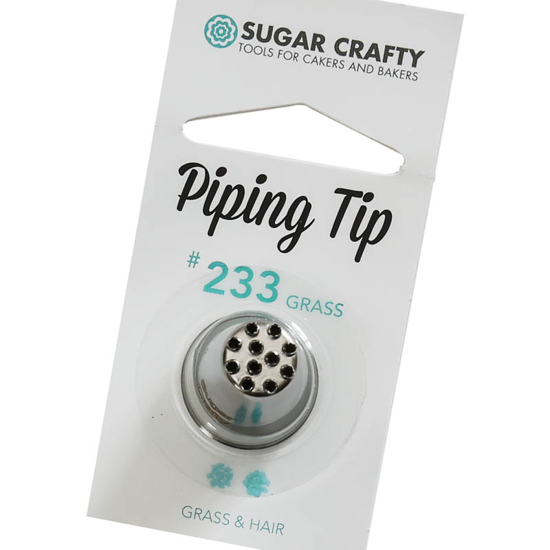 Sugar Crafty Grass Icing Tip 233