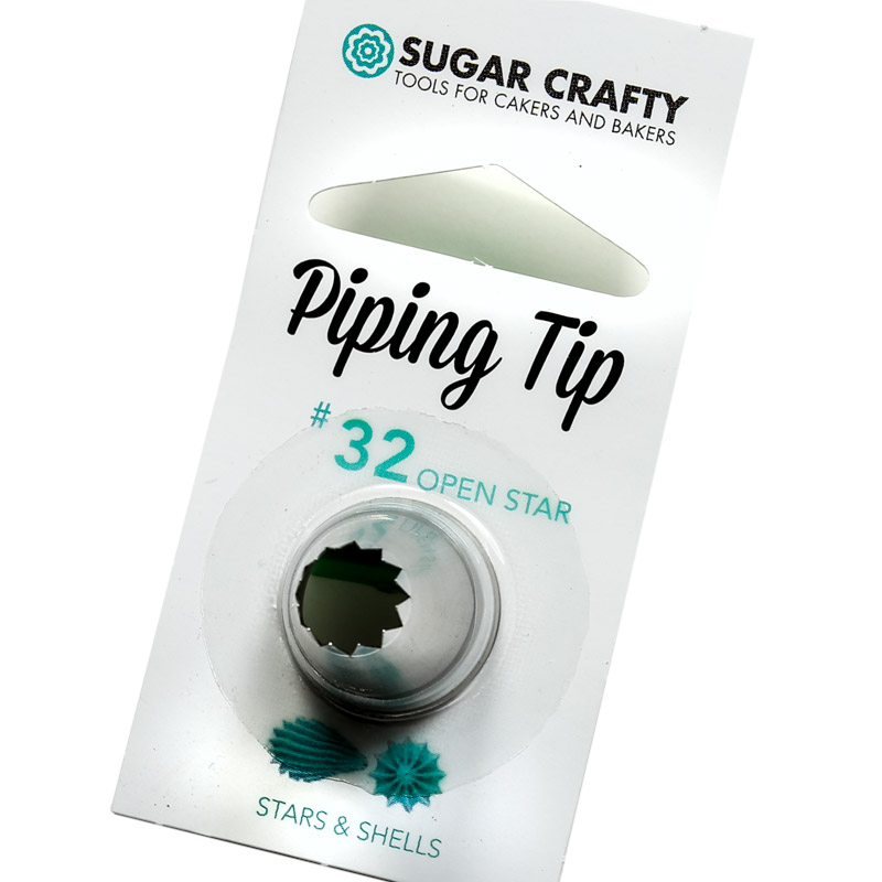 Sugar Crafty Open Star Icing Tip 32