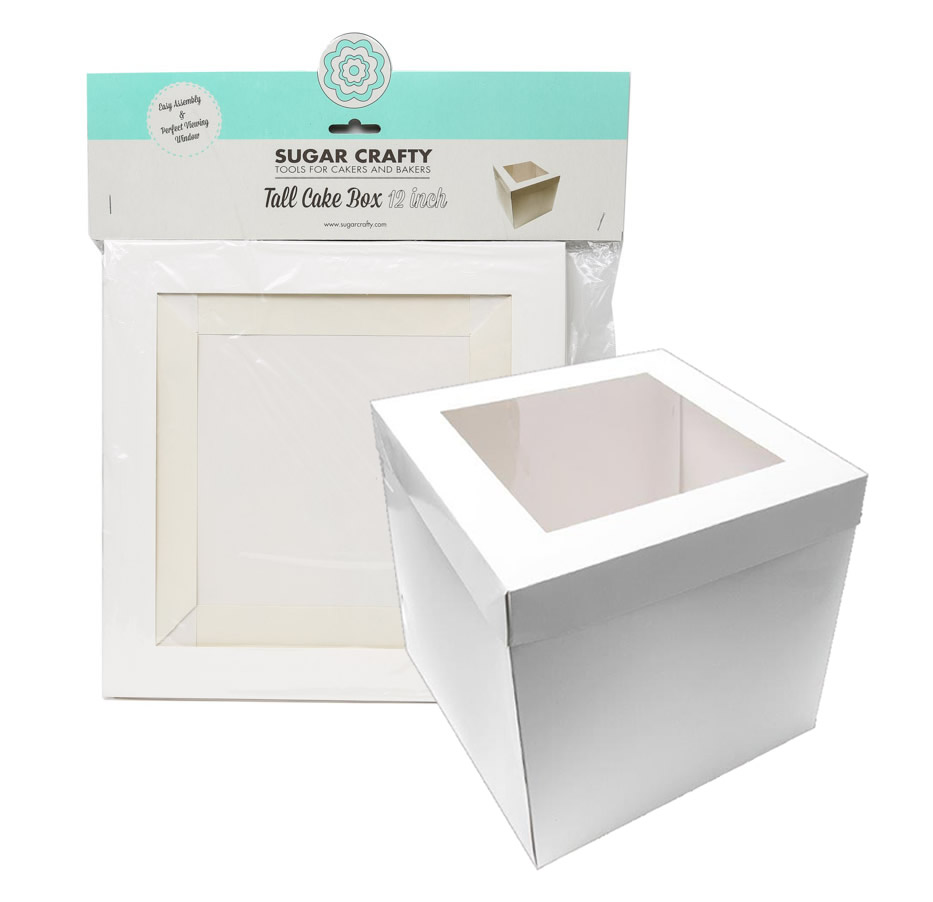 HANGSELL 30cm Tall Cake Box with Window 12 inch