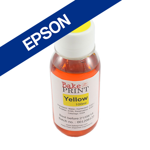 EPSON Edible Ink Refill Bottle 100ml - YELLOW