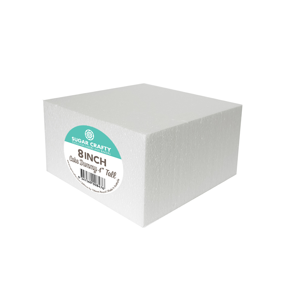 Cake Dummy - SQUARE 8 x 4 High