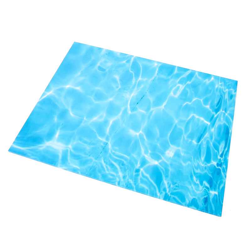 Food Presentation Board (WATER) - RECTANGLE (45cm x 35cm)
