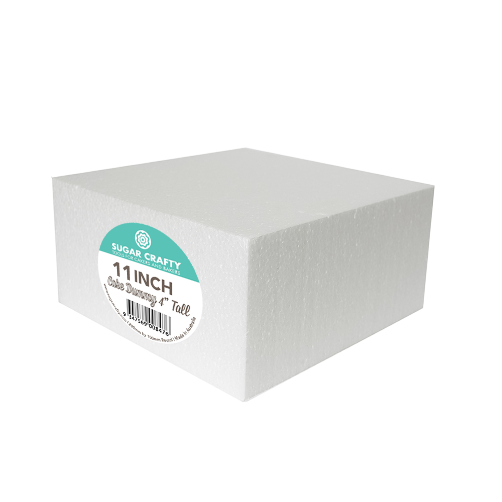 Cake Dummy - SQUARE 11 x 4 High