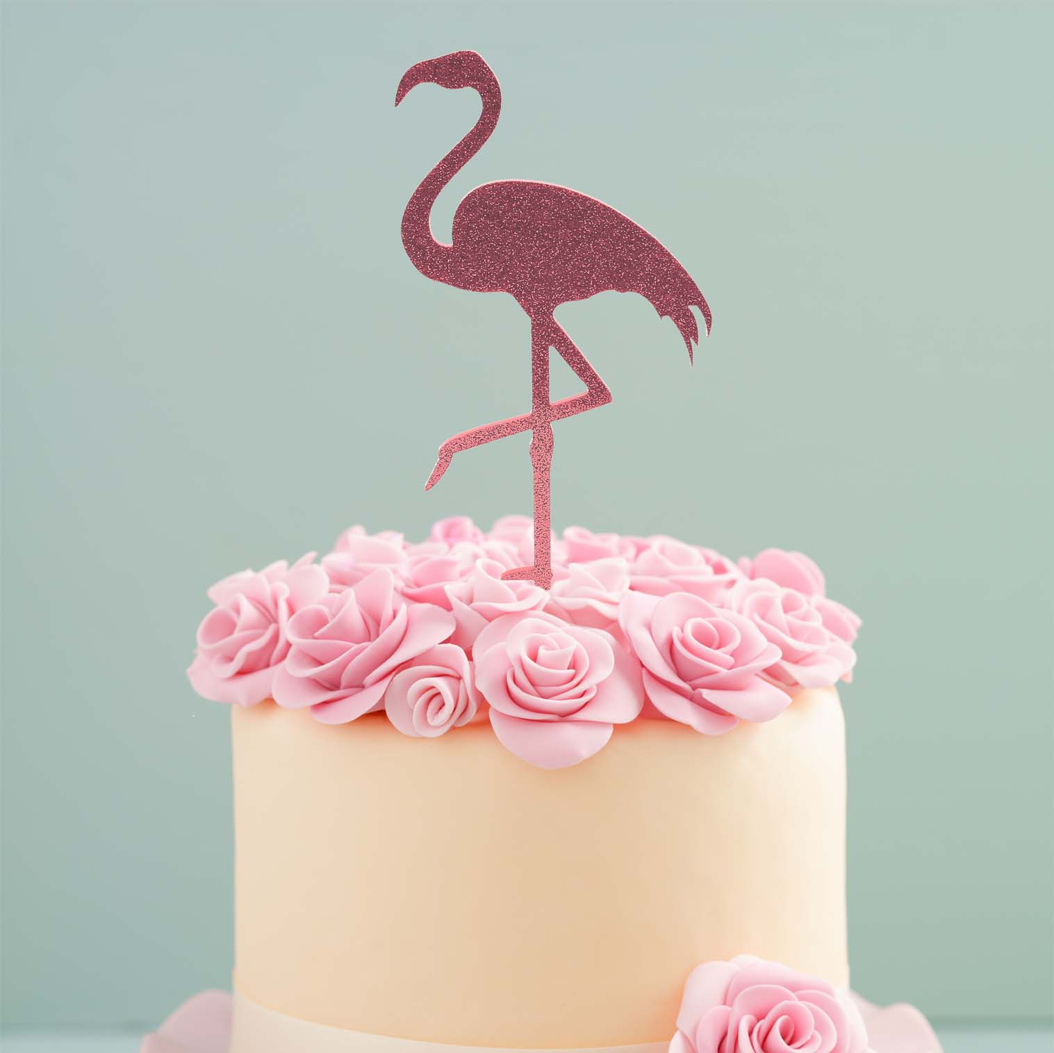 FLAMINGO Cake Topper (Pink)