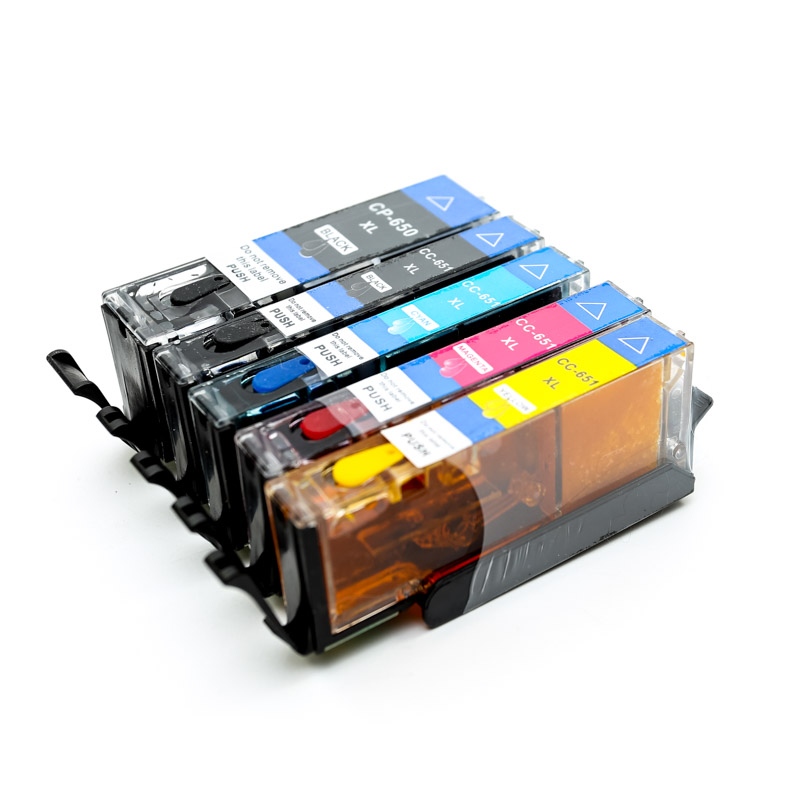 650 Edible Ink Cartridges (5 Pack)