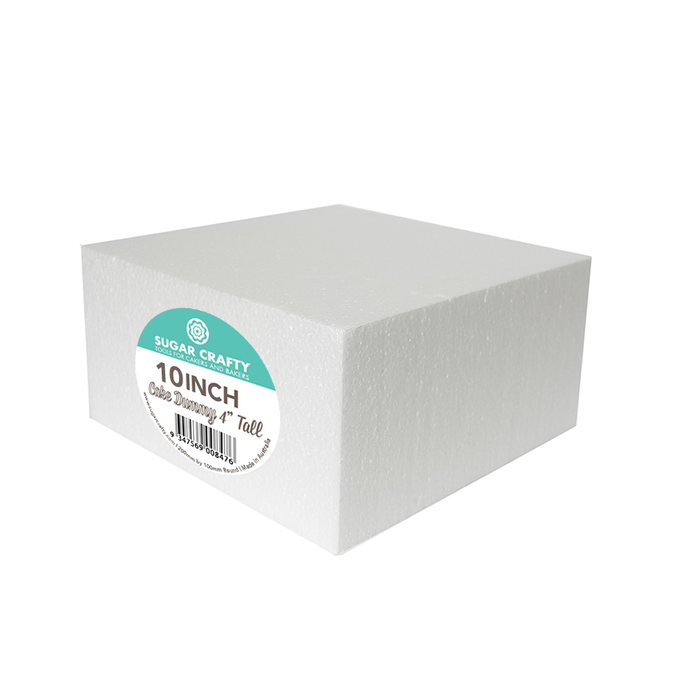 Cake Dummy - SQUARE 10 x 4 High