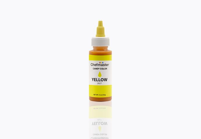 Chefmaster Oil Based Food Colouring - YELLOW (2oz)
