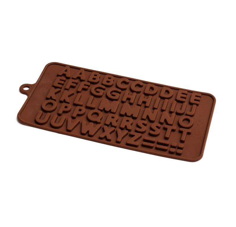 ALPHABET Silicone Chocolate Mould