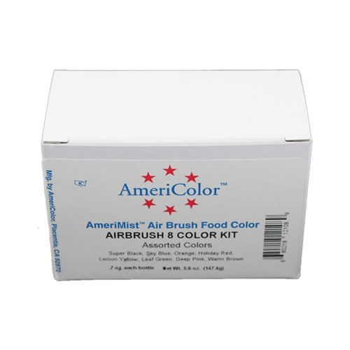 Amerimist Airbrush 8 Colour Kit **
