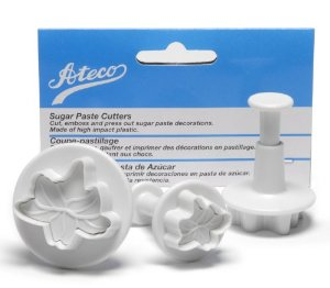 ATECO Lily Plunger Cutter - 3 Pieces